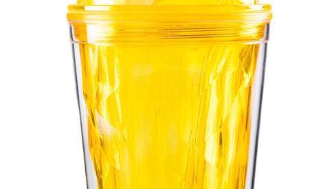 Diamond Tumbler - Yellow Mango Tango