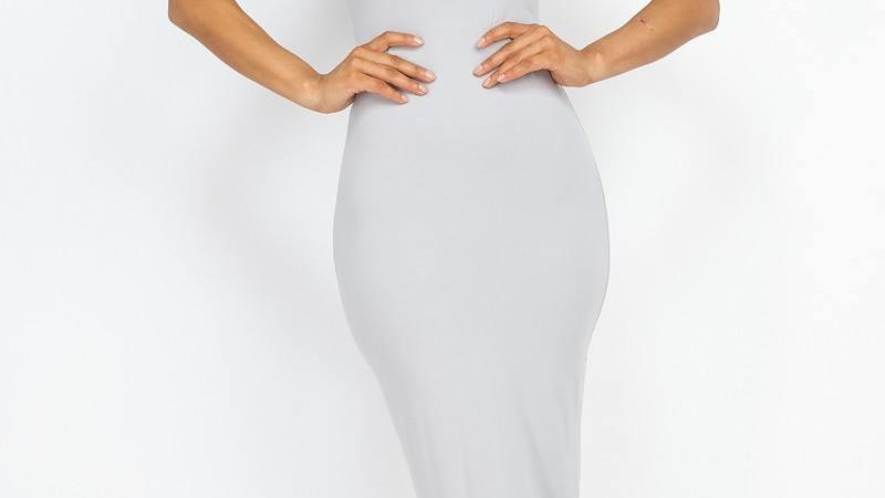 Solid Basic Maxi Dress