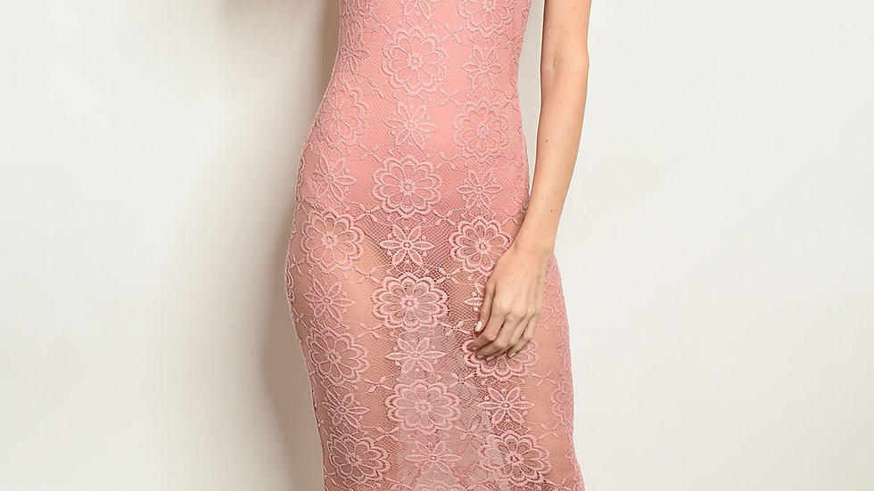 Womens Sheer Dress