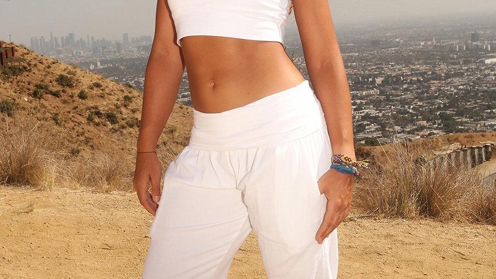 Women's Yoga  Kung Fu Reg Capri Pants