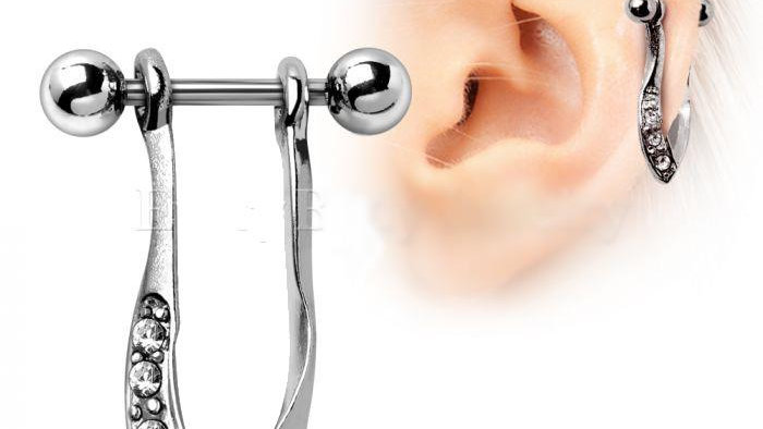 Hanging Cartilage Cuff Earring