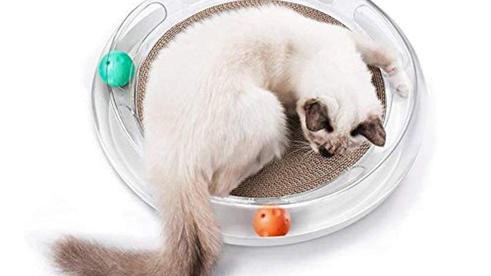 INSTACHEW Cat Scratch and Play Mat