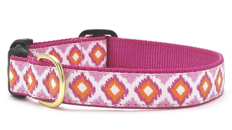Pink Crush Dog Collar