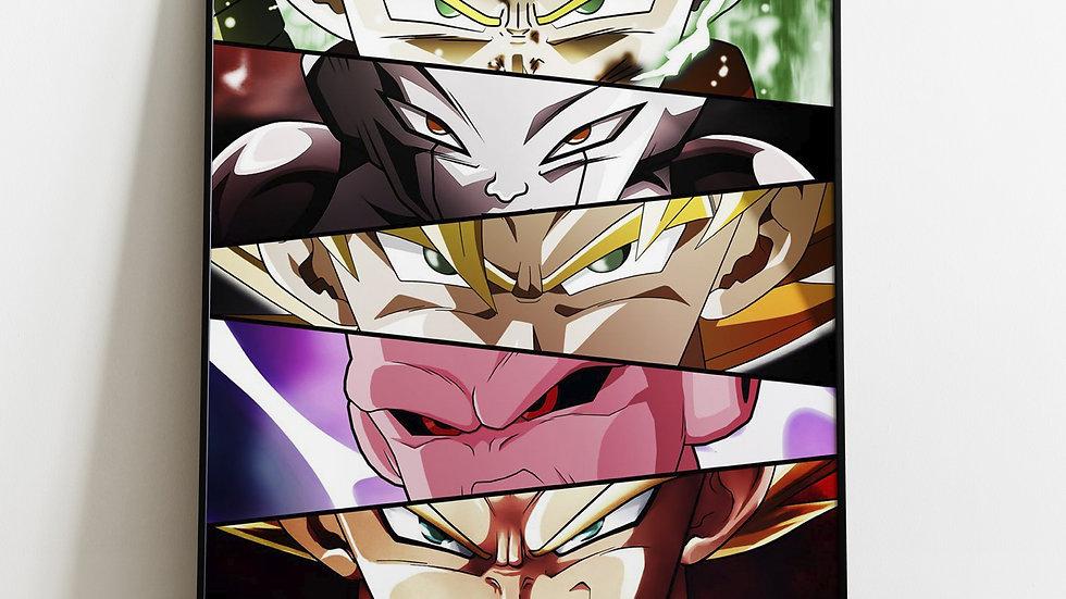 Dragon Ball Z Eyes