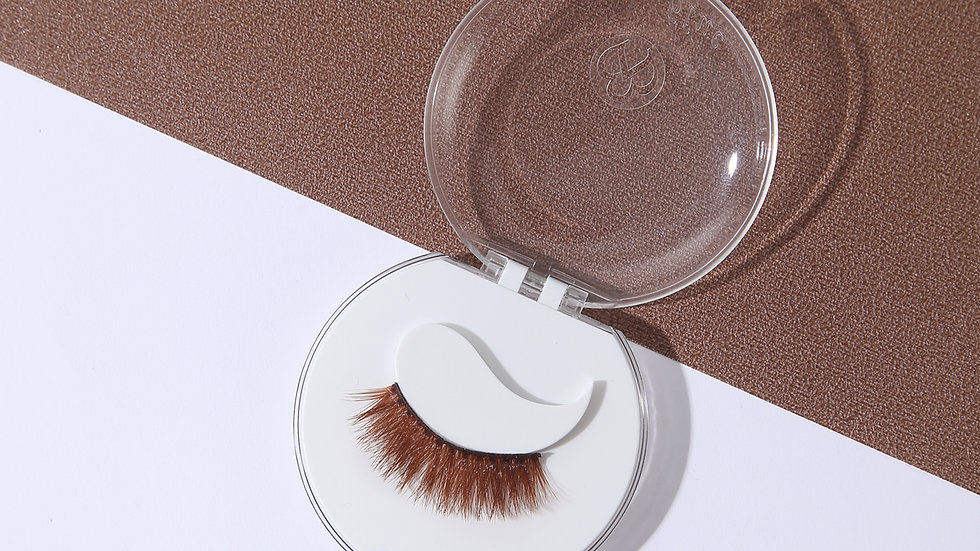 Brown Lashes ( Ginger Lashes)