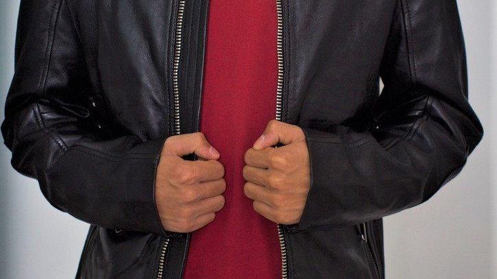 Men's Minnesota Leather Jacket - Limited Stock