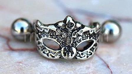 Venetian Mask Cartilage Cuff Earring