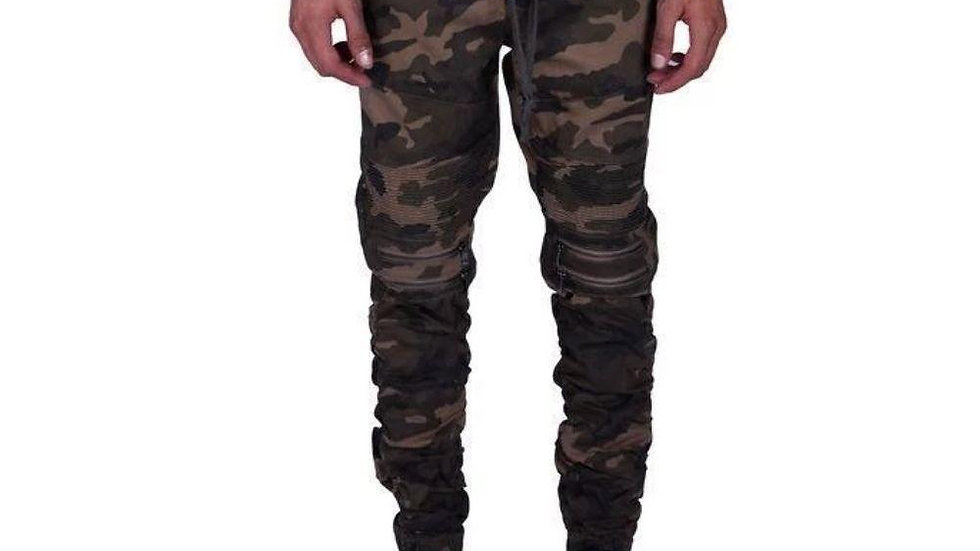 Mulisha Stacked Leg Joggers