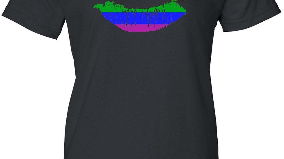 Women's Gay Kiss LGBT Lesbian Homosexual Pride Juniors T-Shirt