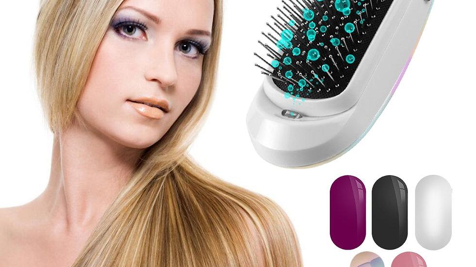 New Version Ionic Hairbrush Negative Electric Massage Anti-Static Hair Brush