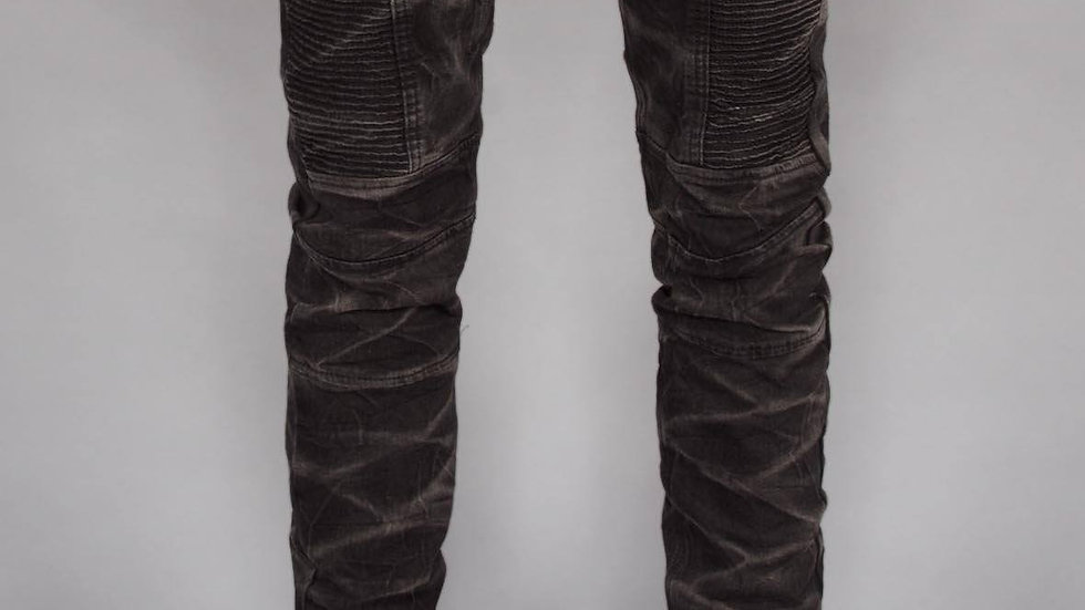 Marble Moto Jeans