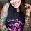 """Thumbnail: Ladies """"Inked and Sexy"""" Sleeveless Tri-Blend Hoodie"""