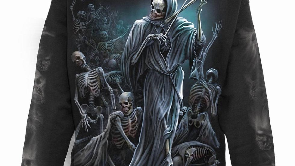 DANCE OF DEATH - Full Zip Hoody Black