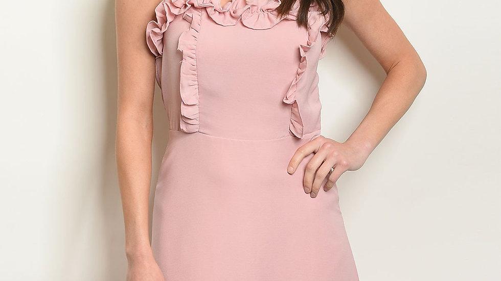 Womens Mauve Dress