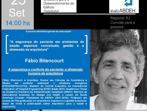 Participe do Encontro Multidisciplinar de Discussão: Participação Fabio Bitencourt
