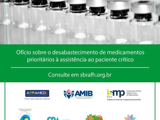 Desabastecimento de medicamentos prioritários à assistência ao paciente crítico