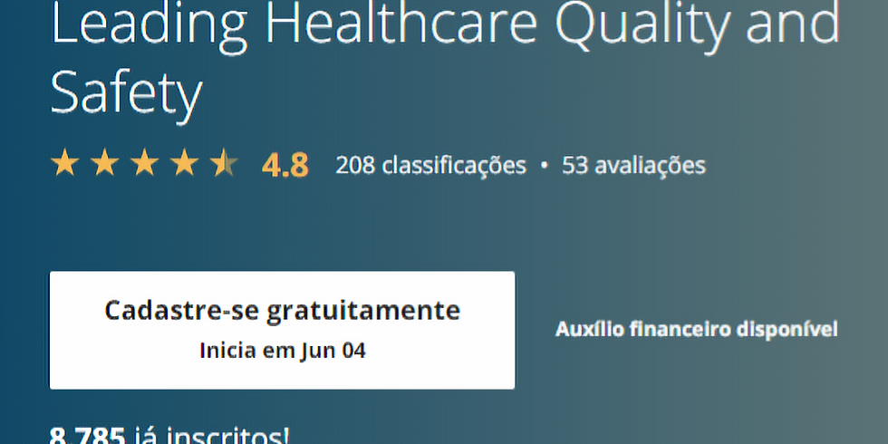 Leading Healthcare Quality and Safety