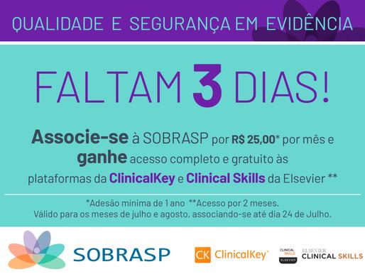 Acesso completo e gratuito às plataformas da ClinicalKey e ClinicalSkills