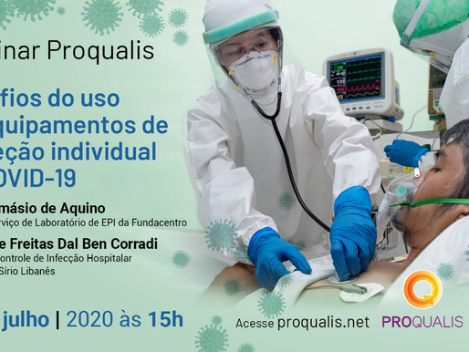 Assista ao Webinar Proqualis sobre EPI