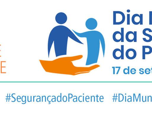 Declaração conjunta sobre o Dia Mundial da Segurança do Paciente  17 de setembro de 2019