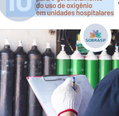 10 orientações para uso de oxigênio em serviços de saúde