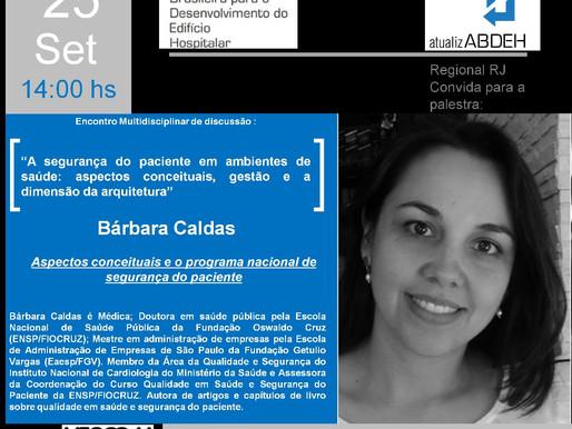 Encontro Multidisciplinar de Discussão:  Bárbara Caldas