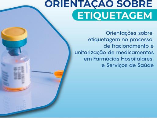 Alerta sobre etiquetagem de medicamentos