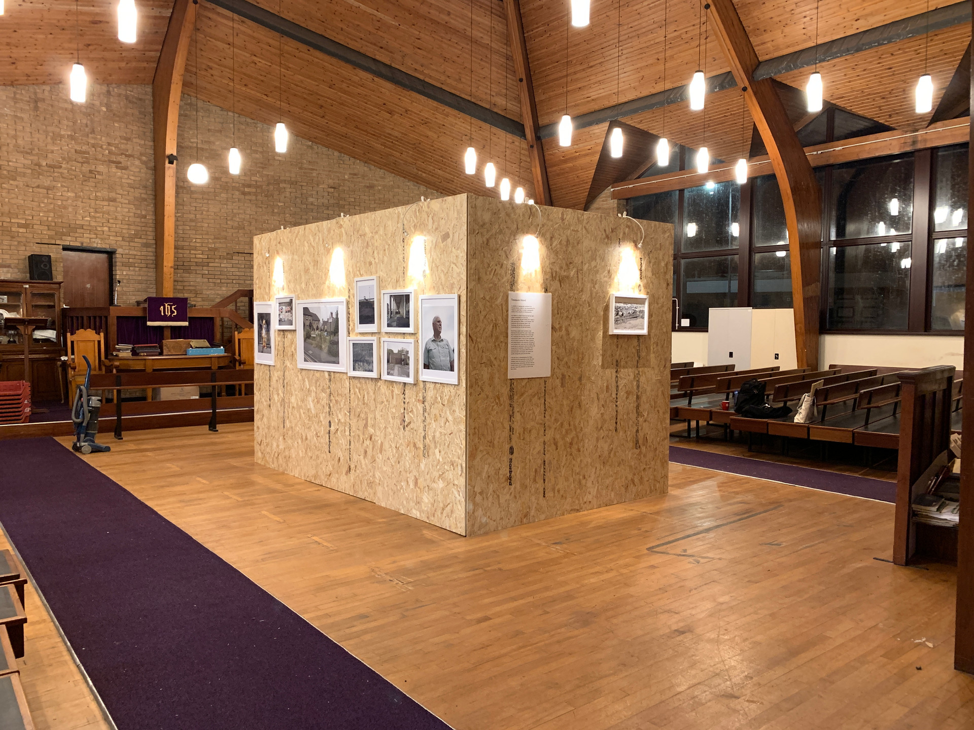 Treasure Island Exhibition, Port Talbot, 2019