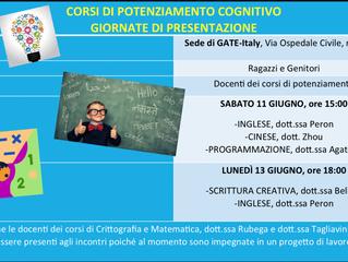 Presentazione potenziamenti cognitivi