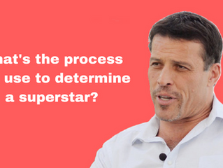 Tony Robbins process to hiring superstars