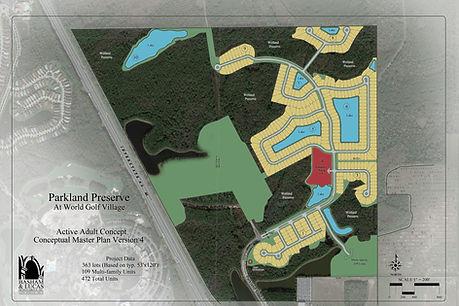 Parkland Preserve Site Plan _ Basham & L