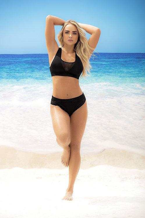 Sporty High Waisted Bikini Set