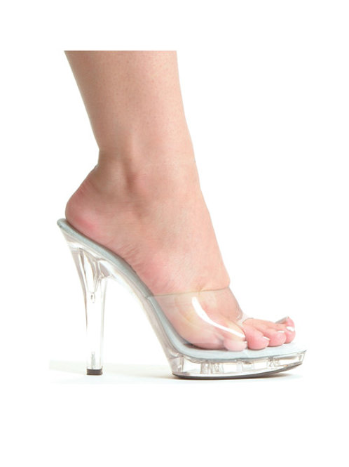 "Ellie Shoes M-Vanity 5"" Pump Clear"