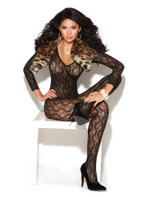 ivace Long Sleeve Lace Bodystocking