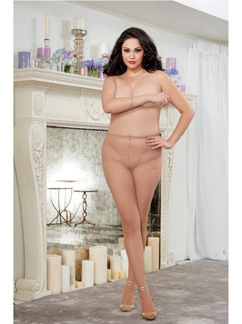 Queen Nude Back Seam Pantyhose