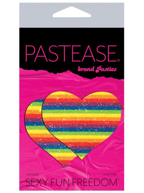 Pastease Glitter Heart -Rainbow