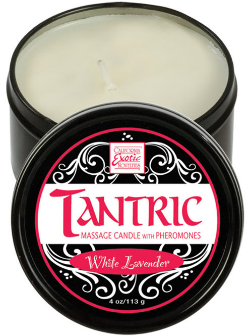 Tantric Soy Candle w/Pheromones