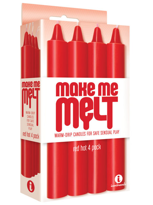 The 9's Make Me Melt Sensual Warm Drip Candles