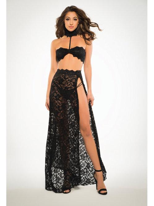 Adore Lace Long Skirt Set