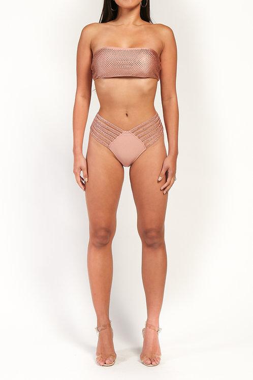 Rhinestone Studded Bikini