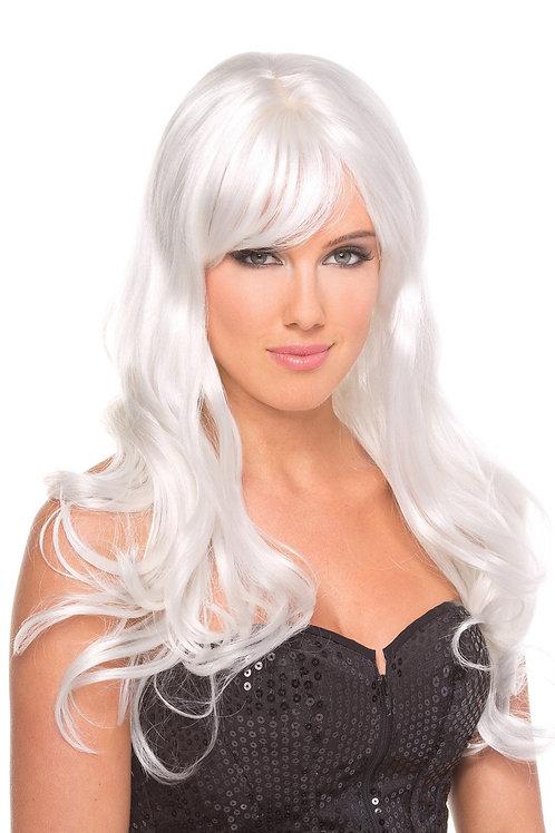 Burlesque Wig White