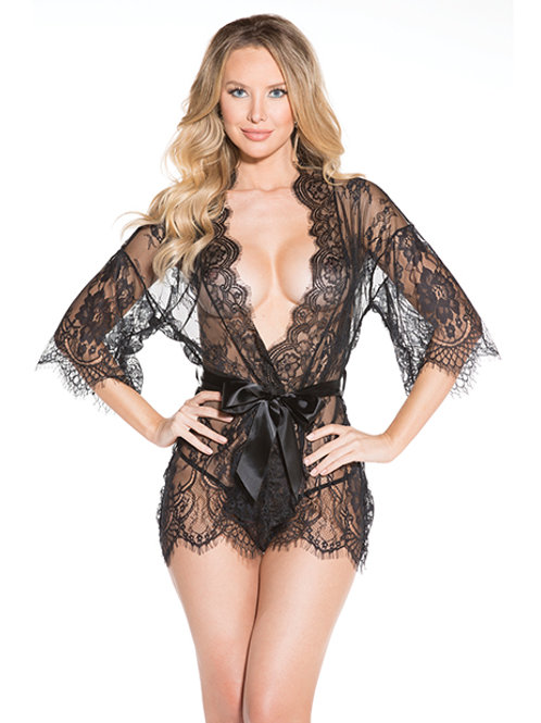 Lace Goddess Robe (Plus Available)