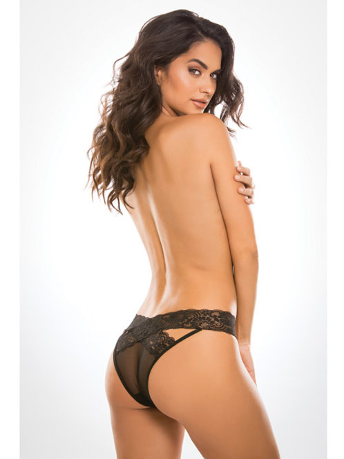 Adore Sheer & Lace Desire Panty
