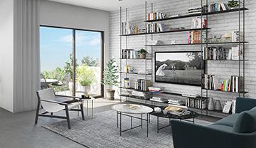 בחירת גודל דירה - איך מודדים שטח דירה