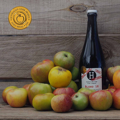 Blend 2016 Dry and Natural (1644) Sparkling Cider 750 ml x 6