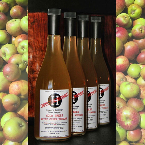 COLD PRESS Apple Cider Vinegar 750 ml x 6