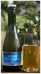 natural sparkling cider
