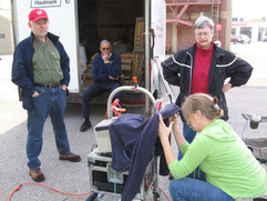 Field Guide for Emergency Response filming crew