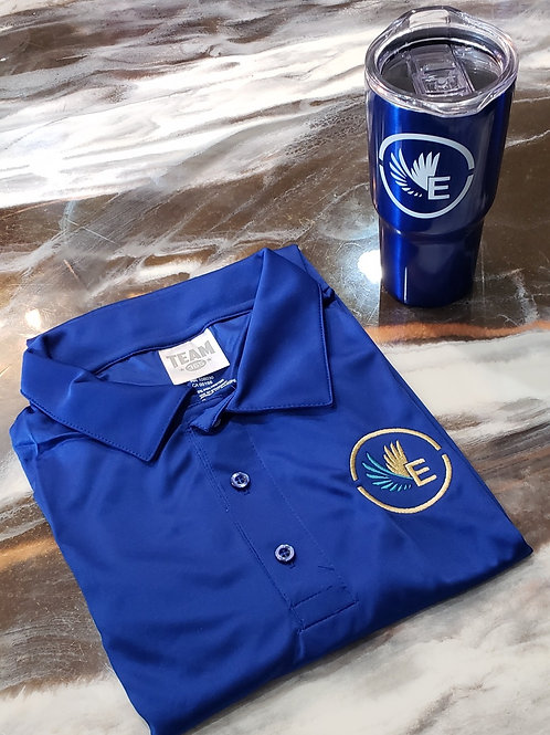 ELife Polo Shirt and Cup Combo