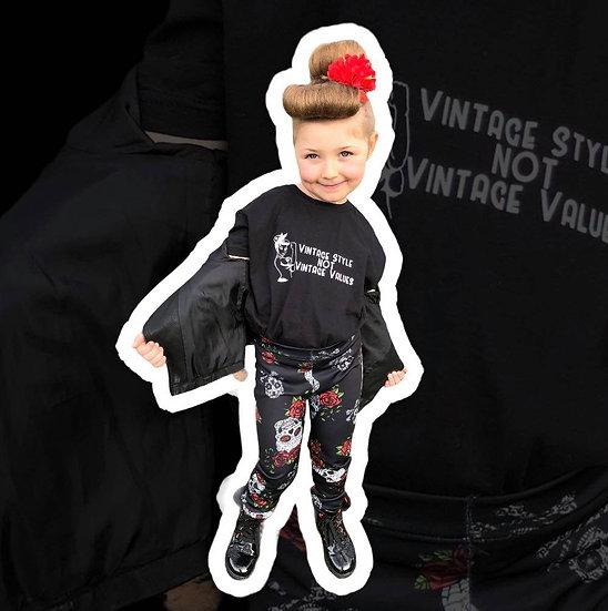 Children's Vintage Style Not Vintage Values T-Shirt